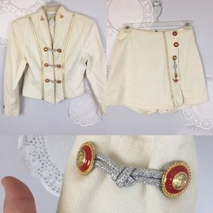 Circus Ring Master Band Leader Vintage Costume M